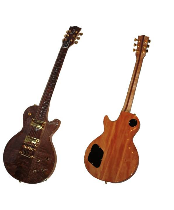 Featured Guitar - Hot Walnut Hanzel